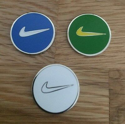 Set of three Magnetic golf ball markers                                m160