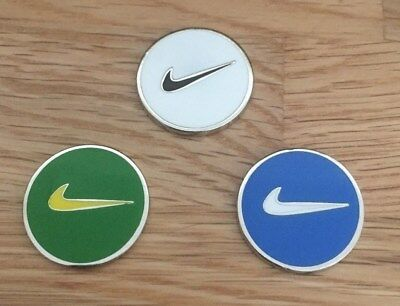 Set of three Magnetic golf ball markers                                m181