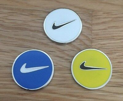Set of three Magnetic golf ball markers                                m183