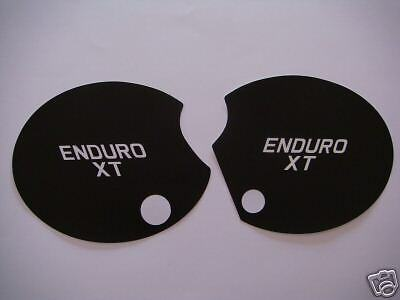 Yamaha Xt500 C Side Panel Decals 1976 Pair