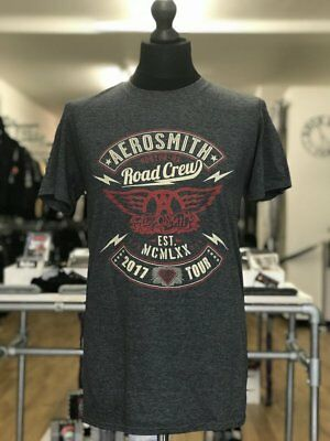 Areosmith Road Crew Unisex Official Tee Shirt Brand New Various Sizes
