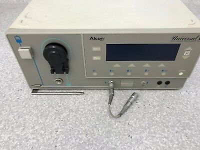 Alcon Universal II phaco machine with foot pedal