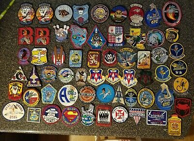 61 Usaf Class And Pilot Training  Patches From All Bases .