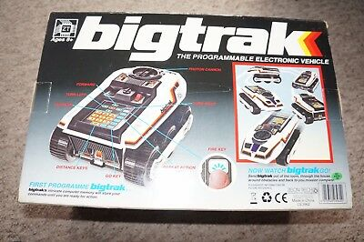Big Trak Programmable Electronic  Vehicle