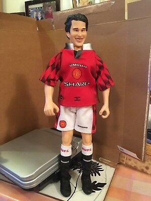 "12"" Ryan Giggs Corinthian Figure 1997 Man U Strip"