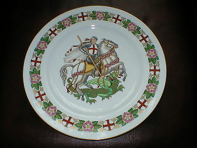 SPODE THE ENGLAND PLATE SAINT St GEORGE & THE DRAGON Y8259 10.1/2in