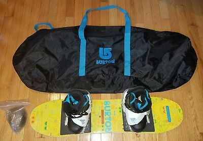 Burton Youth, Kid Child, Jr. 90 cm After School Special Snowboard & Bindings Bag