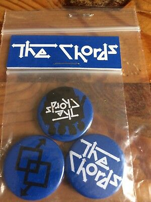 The Chords Mod Revival Badge Set