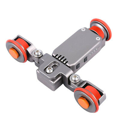 Electric Autodolly Video Car Motorized Dolly Track Slider Skater for Camera