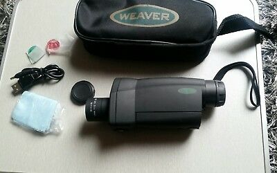 Weaver Nightview Digital Night Vision  New With Box Lead Eye Piece Case More