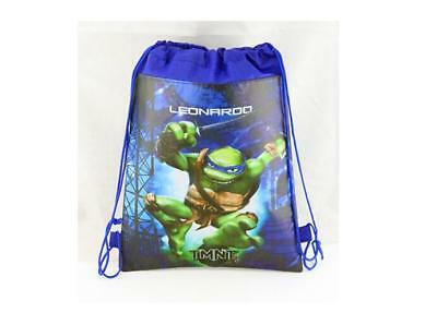 Child non-woven bag Double faced backpack Dark Blue Teenage Mutant Ninja Turtle8