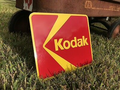 Antique Vintage Old Style Kodak Sign **Blemish**