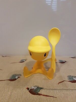 alessi egg cup yellow egg man
