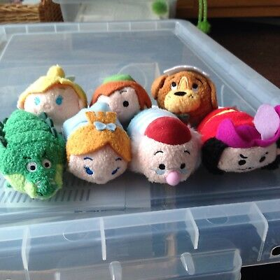 Disney Tsum Tsum X 7 Peter Pan Brand New With Tags