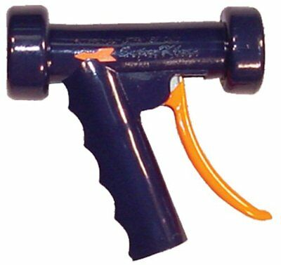 SuperKlean 150B-DB Pistol Grip Spray Nozzle Brass 1/2 NPT Dark Blue