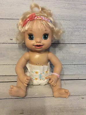 Baby Alive Interactive Learn To Potty Doll Talking Soft Face 2007- HTF!
