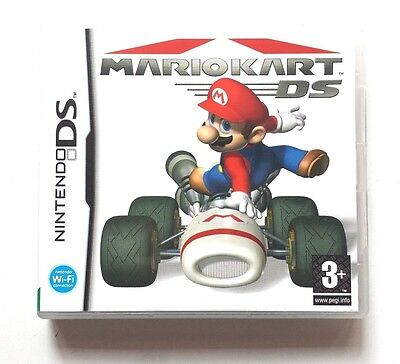 Mario Kart DS *BOX & MANUAL ONLY* (Nintendo DS, 2005)
