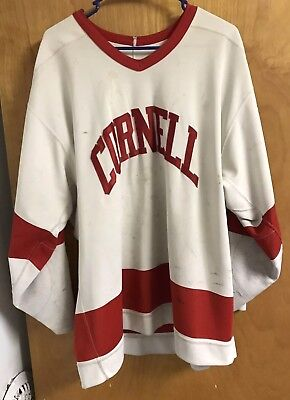Cornell Men's Ice Hockey Game Worn Jersey C. Wilson 1993-1997