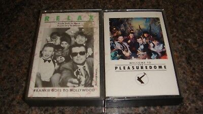 Frankie Goes To Hollywood- Pleasure Dome- Album- Relax Cassette Single