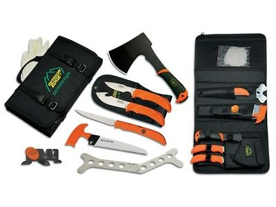 Outdoor Edge The Outfitter Processing Kit OF-1 | 7 Piece Hunting Tool Set
