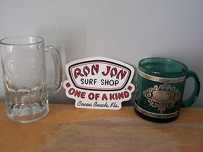 "Ron Jon Surf Shop ""one Of A Kind"" Decal, Stein & Mug - Cocoa Beach, Florida"