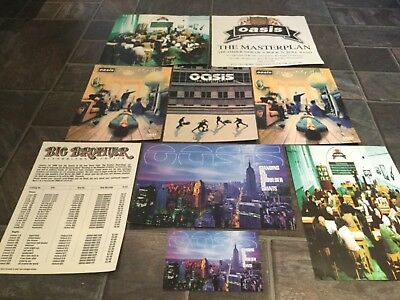 OASIS 8 x Paper Press Releases Masterplan, Definitely, Giants, etc