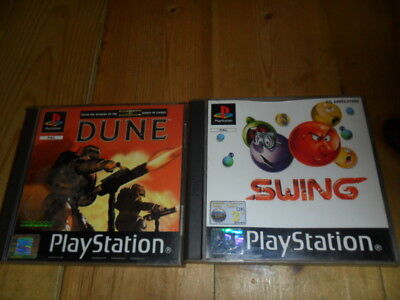 2 Ps1 Games - Swing And Dune