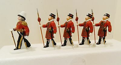"""Dept.56  Heritage-Dickens Village  Accessory   """"yeomen Of The Guard""""  #58397"""