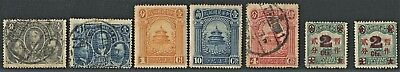 A selection of mint and used early Chinese stamps, mixed condition (21)
