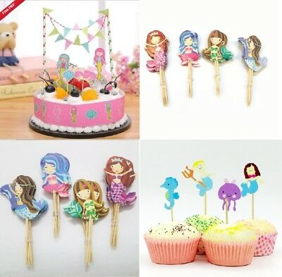 Butterfly Flower Birthday Candles Cupcake Topper Birthday Cake