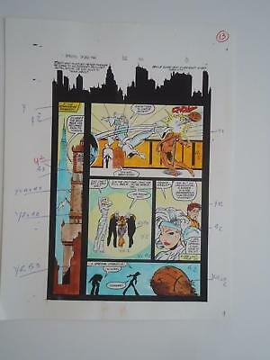 1988 Amazing Spider-Man 302 Page 13 Todd McFarlane Greg Wright Color Guide Page