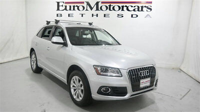 2013 Audi Q5 2.0T Premium Plus audi q5 2.0T premium plus panorama roof tow hitch Low Miles 4 dr SUV Automatic G