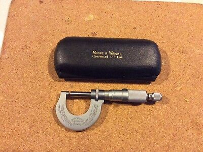 "Moore & Wright - micromter - 0-1"" - no 961"