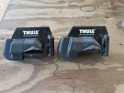 Used pair of Thule 415 mounts   earlier version of the 450 Crossroads