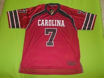 NEW Jersey SOUTH CAROLINA GAMECOCKS (XL) COLOSSEUM #7 NCAA home