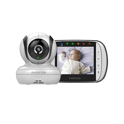 Brand New Motorola MBP36S Remote Wireless Video Baby Monitor White