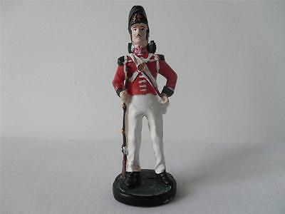 Hand painted Battle of Waterloo Spare Chess Piece British Pawn *Used*