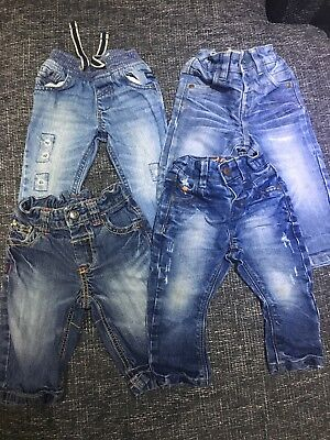 Bundle Joblot Of Boys Next Jeans 6-9. Months