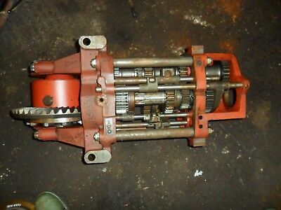 david brown 1390 4wd tractor syncro gearbox