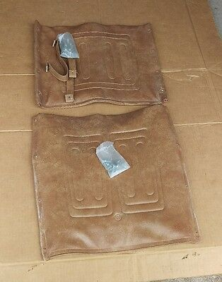 S & D Orbit wheelchair vintage upholstery back rest seat leather cushion screws
