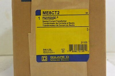 Square D ME8CT2 Micrologic Neutral Current Transformer - NEW