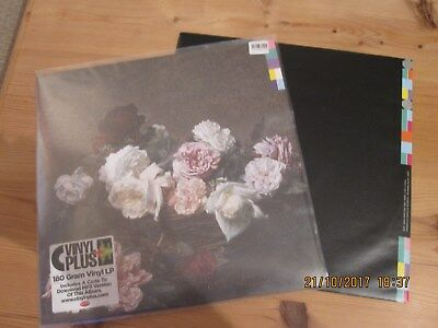 new order  power corruption and lies vinyl lp