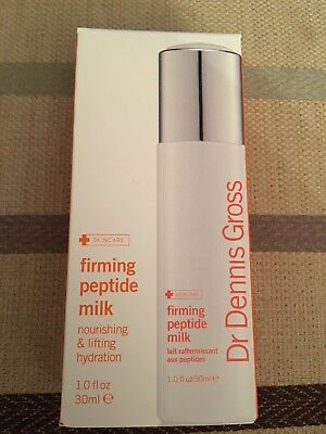 Dr. Dennis Gross Firming Peptide Milk 30ml BNIB New Skincare