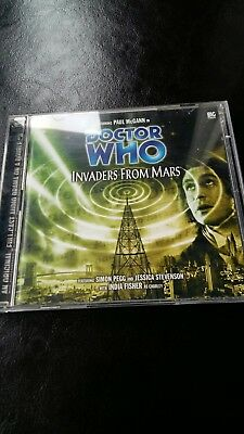 Invaders from mars doctor who 28 cd from big finish