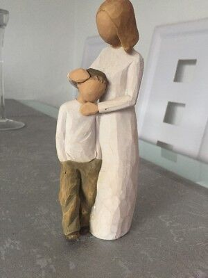 """Brand New Willow Tree """"Mother & Son"""" Susan Lordi Couple Figurine Gift Rrp:£37"""