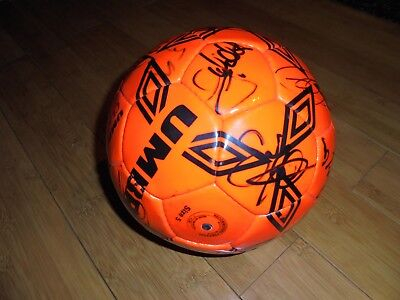 Umbro Classic 32 Football - Authentically Signed By Pre-1997 Liverpool Players
