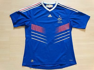 Maillot football foot equipe de FRANCE 2009 taille XL domicile SUPERBE
