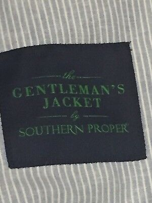 NWOT New Men's 38R The Gentleman's Jacket By Southern Proper Sports Jacket Coat