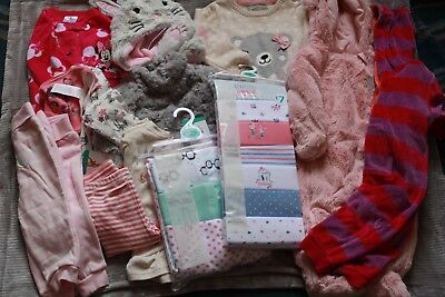 Girls bundle 6-9 months,sleep & body suits,coat,outfit,pramsuit,hat,trousers New