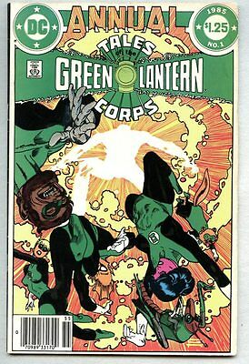 Tales Of The Green Lantern Corps Annual #1-1985 vg+ Gil Kane